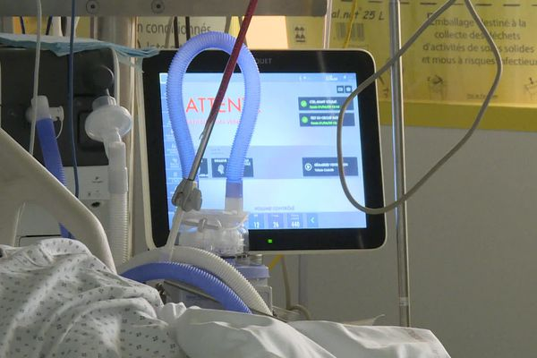 Hôpital de Libourne, service de réanimation.