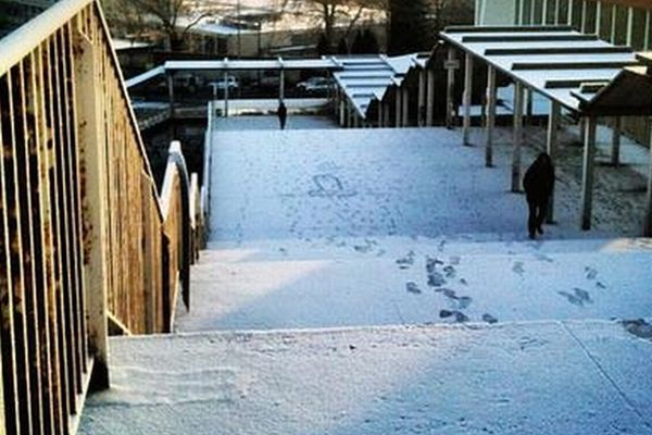 """La neige, même très fine, sujet de photos pour les """"Instagramers"""""""