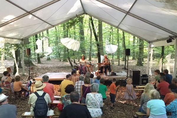Le festival Summerlied annulé cette année à cause d'arbres qui menacent de chuter.