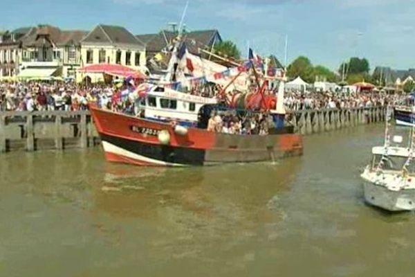La fête de la mer au Crotoy, le 31 juillet 2011