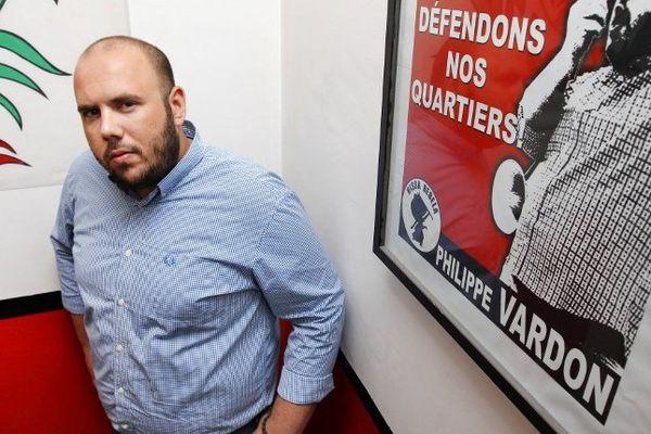 L'ancien identitaire Philippe Vardon a été interpellé par la police municipale.