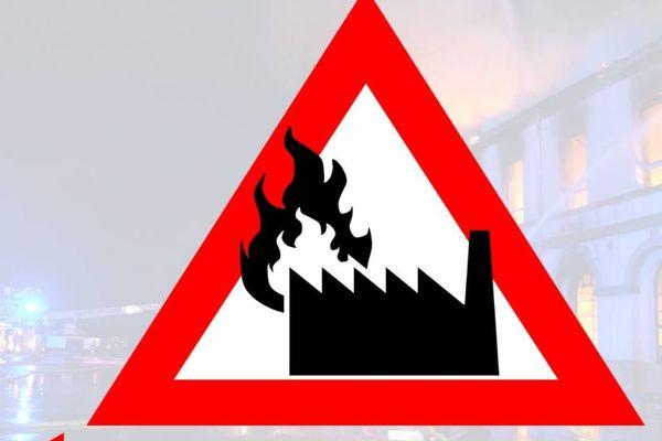 La centrale a été évacuée sans faire de blessé