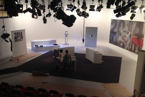 Le studio de France 3