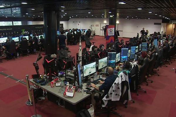 Une cinquantaine de gamers étaient présents pour le Z Event 2019.