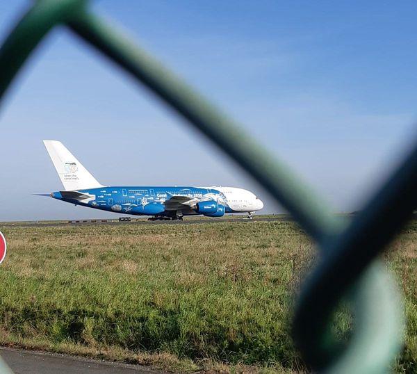 L'avion arrivé de Chine ce 21 février s'est posé à 10H30 à Roissy.