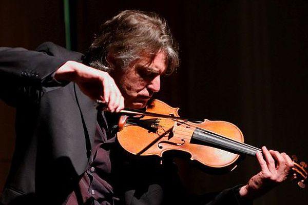 Didier Lockwood à Paris en 2008 (archives)