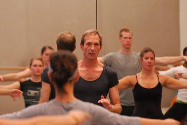 Robert Swinston au cours d'un Master Class au Merce Cunningham Dance Compagny à New-York