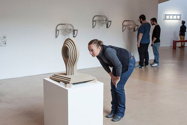 """L'exposition """"Voyez le brick géant que j'examine près du wharf"""" présentée de janvier à avril 2013 au Wharf."""