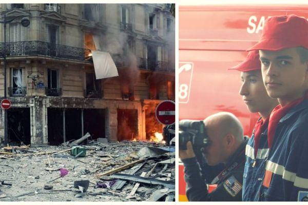 Maxime Acard, jeune pompier originaire de Seine-Maritime, blessé lors de l'explosion d'un immeuble à Paris le 12 janvier 2019.