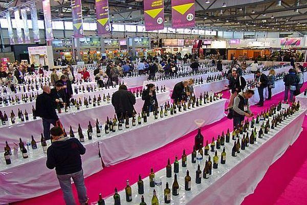 Montpellier - Salon Vinisud - les dégustations des vins du monde - 2012.