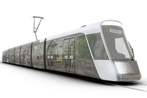 Le nouveau tramway Alstom choisi par la Métropole de Nantes circulera dès 2023