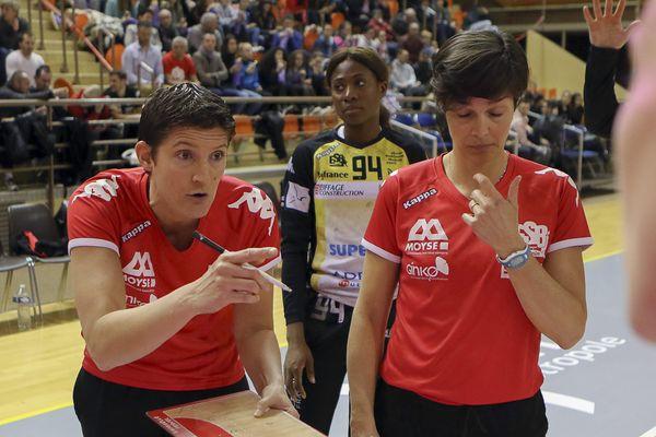 Raphaëlle Tervel, coach de l'ESBF Handball.