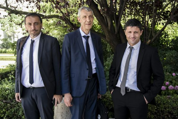 Paul-André Colombani, Michel Castellani et Jean-Félix Acquaviva