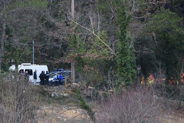 Deux hélicoptères militaires se sont crashés près de Carcès (Var), le 2 février 2018