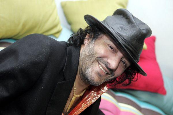 Rachid Taha, au moment de la sortie de son album Diwan 2, en novembre 2006