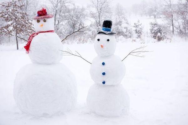 C'est le jour pour faire des bonhommes de neige...