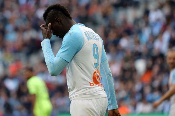 Mario Balotelli complètement dépité au coup de sifflet final