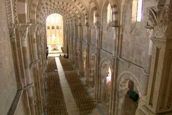 la basilique de Vézelay