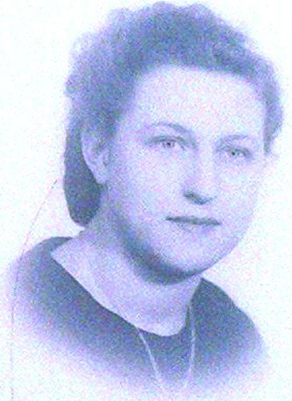 Marie-Thérèse Géré, résistante à 14 ans.