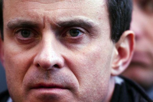 Le ministre de l'Intérieur, Manuel Valls