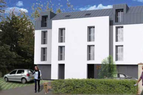 Une maison relais de 20 logements pour l'accueil de personnes en grande difficulté sociale va être construite à Rezé par Atlantique Habitations