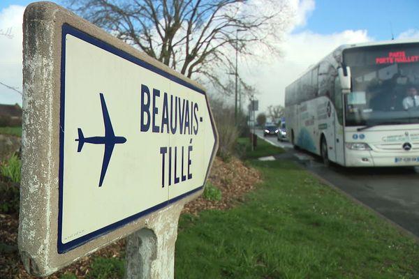 Du 17 mars au 8 avril, 90 vols à destination de l'Italie vont être annulés à l'aéroport de Beauvais Tillé dans l'Oise.