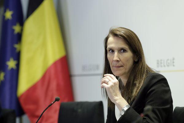 Sophie Wilmès, première ministre belge le 24 avril 2020