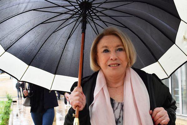Maryse Joissains-Masini lors de son procès à Montpellier le 14 mai 2018.