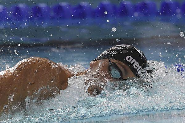 Jérémy Pothain en plein effort lors des Championnats de France