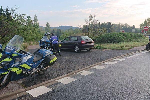 Perpignan - un jeune conducteur flashé à 164km/h sur la RN.116 en plein confinement - 14 avril 2020.