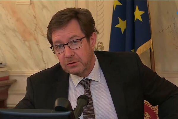 Le préfet de la région Bourgogne-Franche-Comté, Bernard Schmeltz.