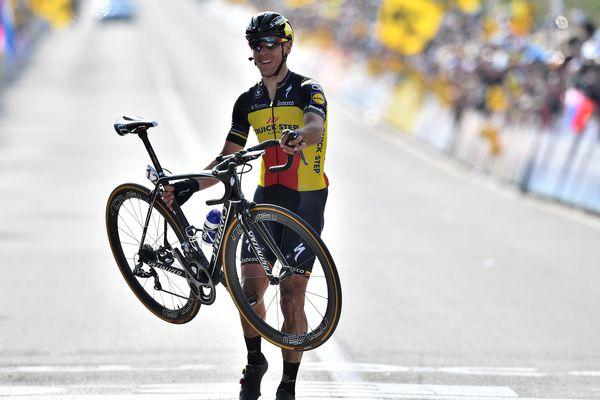 Philippe Gilbert (Quick Step) vainqueur du Tour des Flandres dimanche dernier
