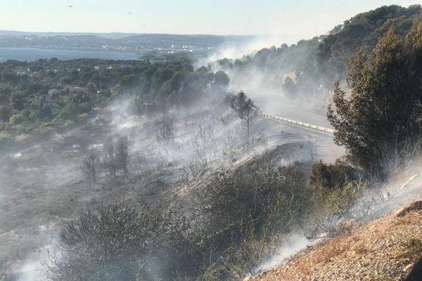 30 hectares de broussaille ont été détruits