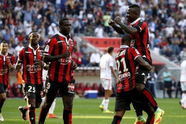 Grâce à un joli but de Ricardo, le Gym a mené au score à la pause face à Lorient.