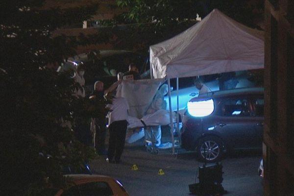 2 hommes tués cité Consolat à Marseille.