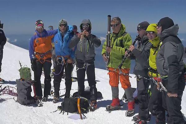 Concert au sommet du Mont-Blanc