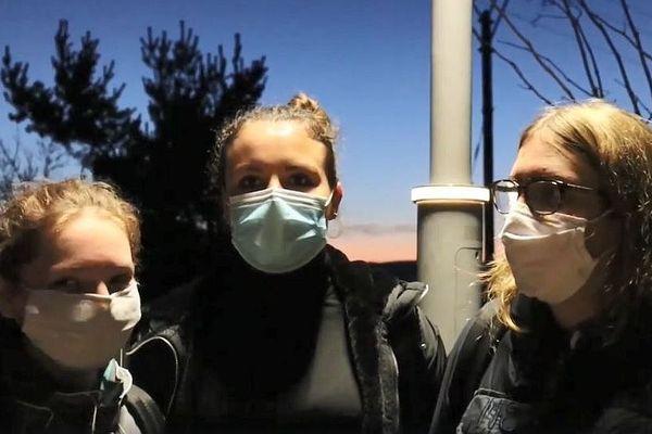 """Les élèves du lycée agricole de Saint-Chély-d'Apcher ont """"vidé leur sac"""" sur le confinement."""