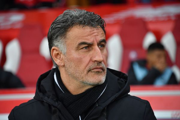 Christophe Galtier, le 8 mars au Stade Pierre-Mauroy. Photo d'illustration.