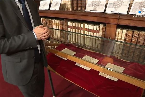 20 lettres inédites de la famille impériale sont exposées jusqu'au 14 octobre à la bibliothèque Fesch d'Ajaccio.