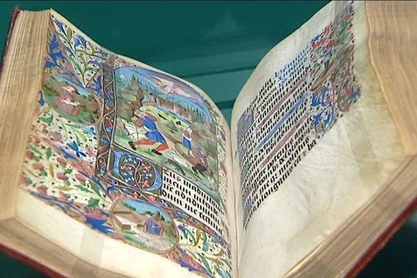 Un des livres rares présentés à l'exposition d'Evreux sur la Renaissance en Normandie