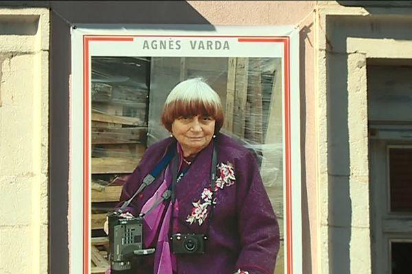 Le portrait d' Agnès Varda à Sète