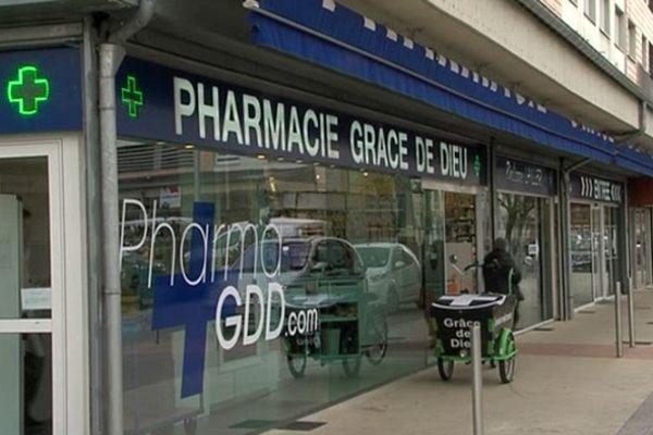 La pharmacie de Philippe Lailler à Caen