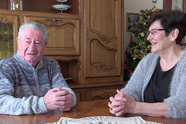 Nicole et Guy Belloteau, les grands-parents d'Amandine Petit, sont fiers du sacre de leur petite fille au concours de Miss France 2021.