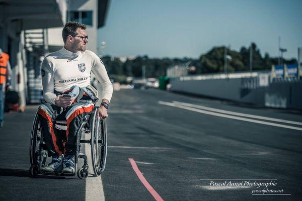 Nigel Bailly, sera un des trois pilotes de la Sausset Racing Team 41 dimanche 22 août aux 24 heures du Mans Auto.