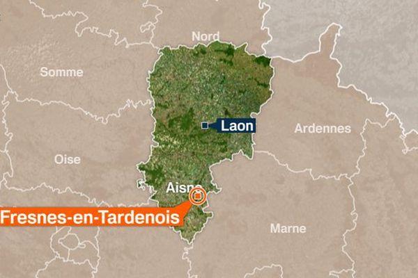 Fresne-en-Tardenois dans l'Aisne