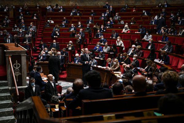 L'Assemblée nationale, le 6 octobre 2020