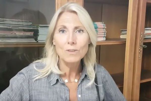 Vidéo de Marie Sara publiée sur Facebook