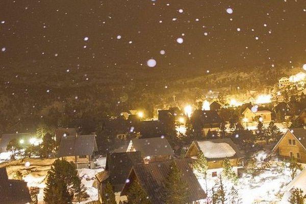La Pierre saint martin sous la neige