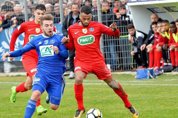 En 2018, l'AS Fabrègues s'était incliné 2-1 face à Bourg-en-Bresse.