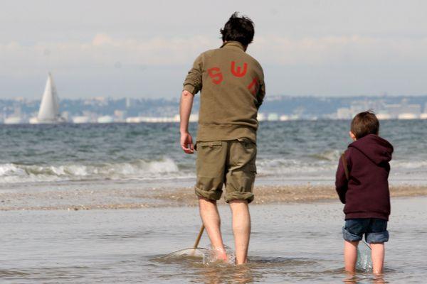la pêche à pied en Normandie